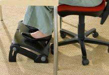 foot rest for under desk at work